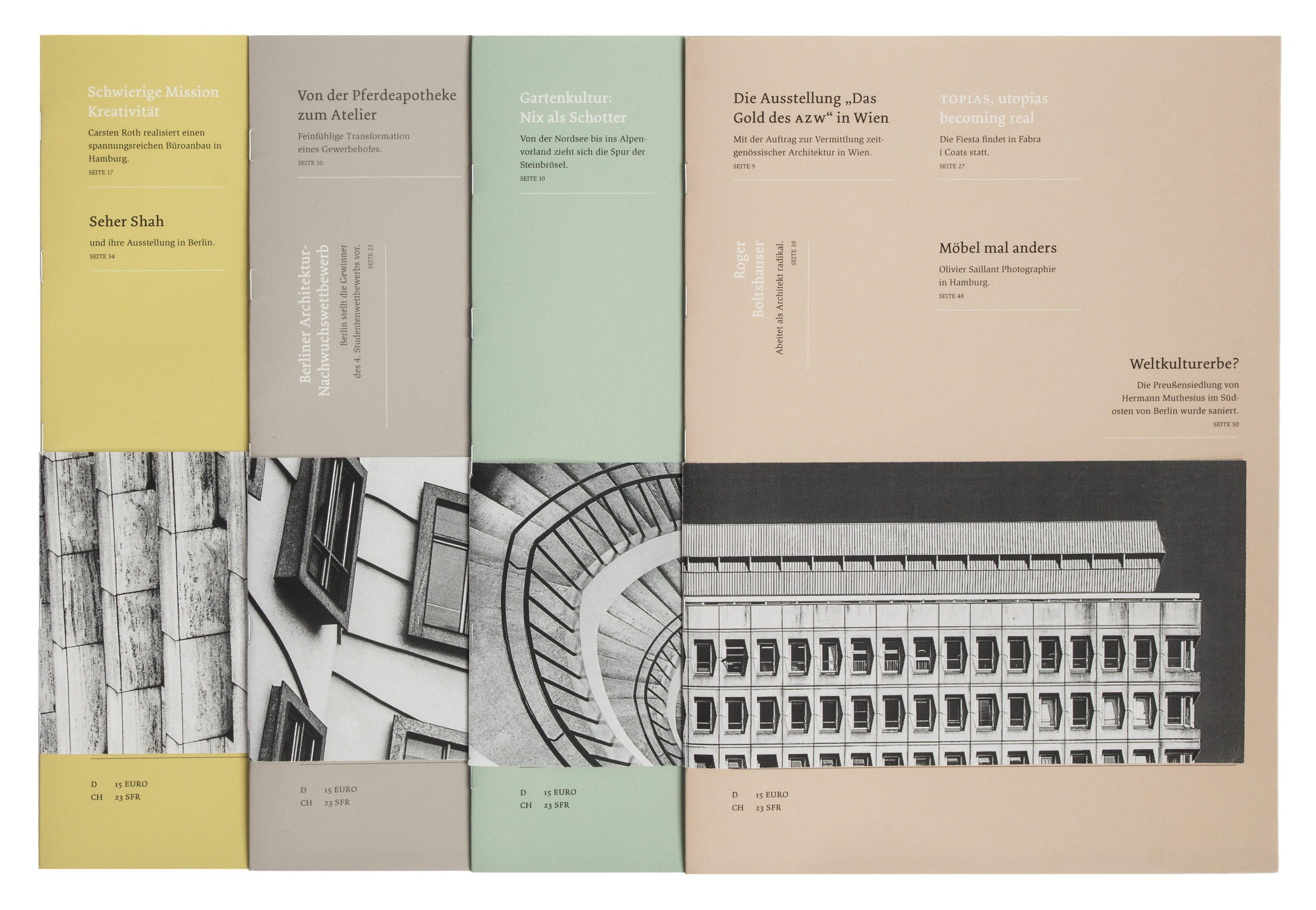 Xtent – Ein Architekturmagazin - Studio tūt